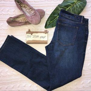 New- CAbi Style #222 Slim Boyfriend Blue Jeans